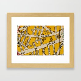 All About Paris I Framed Art Print