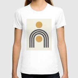 Mid century modern - arch suns T-shirt