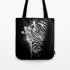 Zebra Mood - White Tote Bag