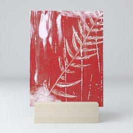 Bleed Through Mini Art Print