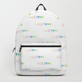 #FuckYes | Rainbow Series | Pop Art Backpack