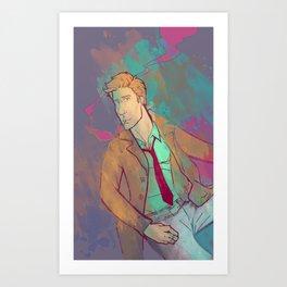 Neon City Art Print