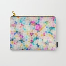 Rainbow Bokeh Carry-All Pouch