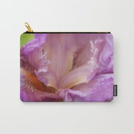 Crested Iris Carry-All Pouch