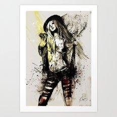 stacey Art Print