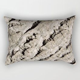 TEXTURES: Walnut Bark Rectangular Pillow