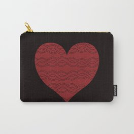 Hearts Woven 05 Carry-All Pouch