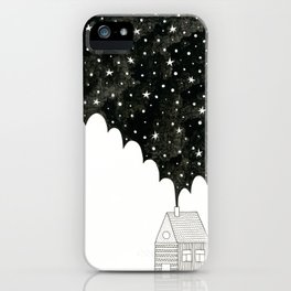 House in the Night iPhone Case