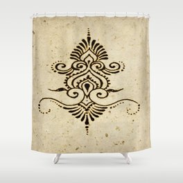 Henna Inspired 2 Shower Curtain