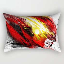 Speed & Velocity Rectangular Pillow