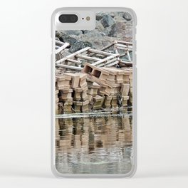 Left Behind Clear iPhone Case