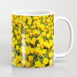 Plenty red and yellow Stresa tulips Coffee Mug