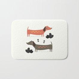 Wiener Dogs Bath Mat