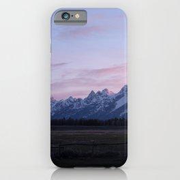 Grand Teton Sunset iPhone Case