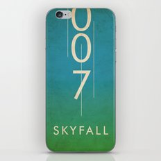 skyfall iPhone & iPod Skin