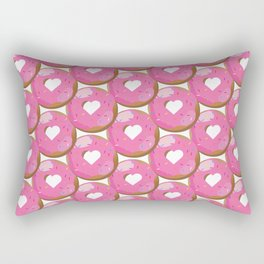 Love Donut Pattern 2 Rectangular Pillow