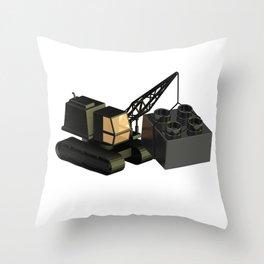 Duplo Construction Throw Pillow