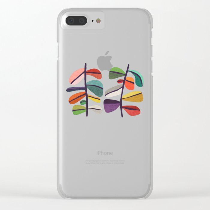 Plant specimens Clear iPhone Case