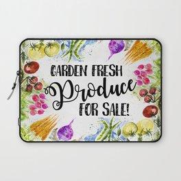 Garden Fresh Produce For Sale Laptop Sleeve