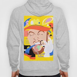 MAC MILLER---Face Art Hoody