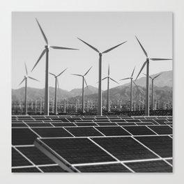 Wind & Solar Canvas Print