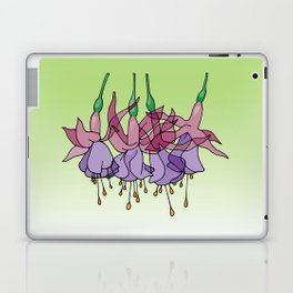 Purple Fuchsias Laptop & iPad Skin