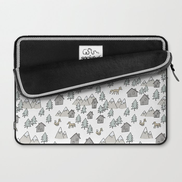 Pattern Zorros Laptop Sleeve