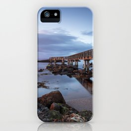 Pans Rocks Sunset II iPhone Case