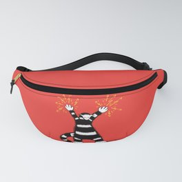 Weird Electro Cat Fanny Pack
