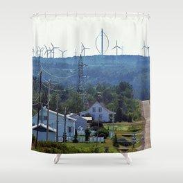 Turbine Hill Shower Curtain