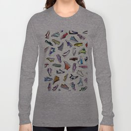 sneakers addiction Long Sleeve T-shirt