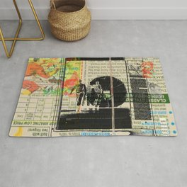 Rauschenberg Rumble (for Hip Kidds) Rug