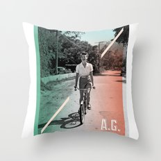 A.G. Collage Throw Pillow