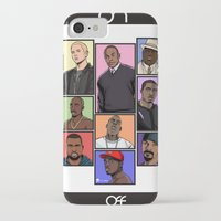 hiphop iPhone & iPod Cases featuring HipHop Legends by Akyanyme