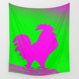 Giant Rooster 2 Wall Tapestry