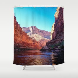 Floating the Colorado *resized* Shower Curtain