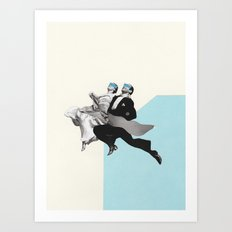 Love Jumping Art Print
