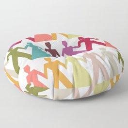 Love Each Other Floor Pillow