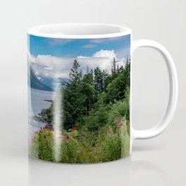 On The Road To Hope, Alaska Coffee Mug