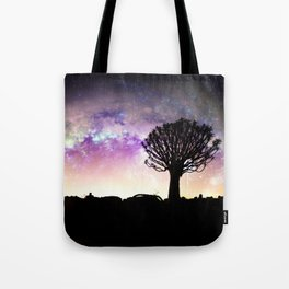 African galaxy skyline - Landscape Photography #Society6 Tote Bag
