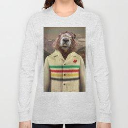 Hudson Beaver Long Sleeve T-shirt