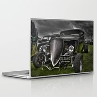 ford Laptop & iPad Skins featuring Vintage Ford by Nicola Lee
