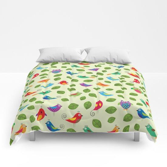 Birds pattern Comforters