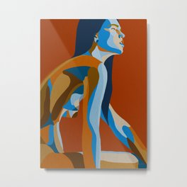 Body study Metal Print