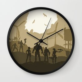 Borderlands Wall Clock