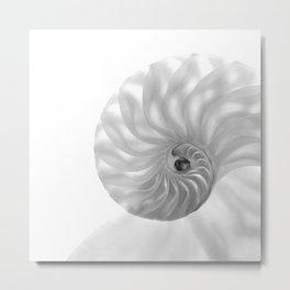 Nautilus Chambers... Metal Print