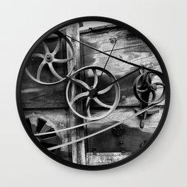 Old Farm Mechanics 2 Wall Clock