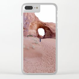 The Ear, the Backcountry, the Sand, and my Dad Clear iPhone Case
