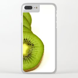 Slices of kiwi Clear iPhone Case