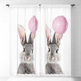 Bunny With Balloon Blackout Curtain